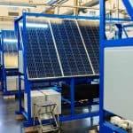 Production panneaux solaires